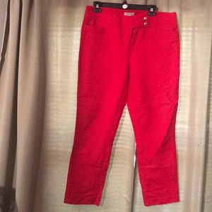 ❤️Madison size 8 red ankle pants